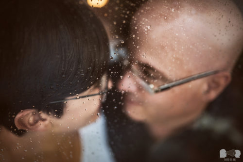 Betty + Ramon, World map + Words. Engagement session at home