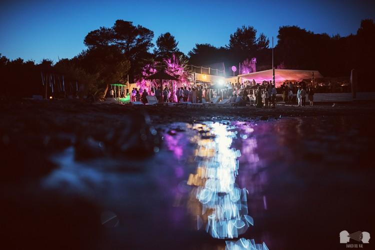 Boda en Ibiza, Alexandra + Arnaud
