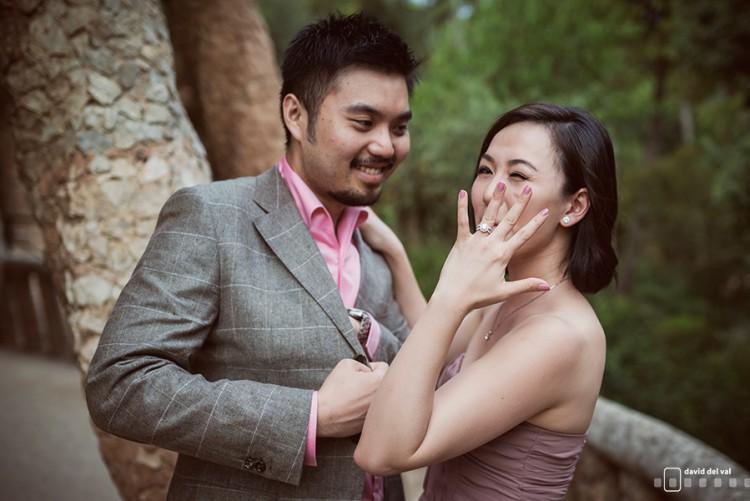 Un anillo sorpresa de Singapur a Barcelona