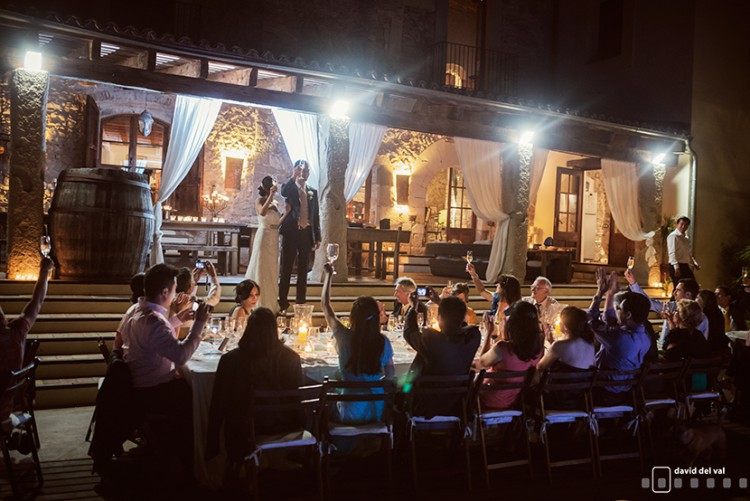 Casa Felix, a wedding in Olivella from London to Sitges