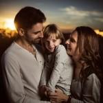 La familia de Aura, sesión de embarazo