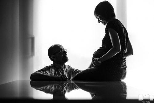 Sesión de embarazo de la pequeña Nilde, de UK a Lleida